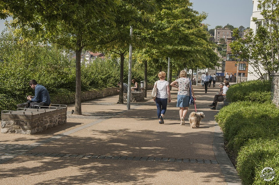 Sustainable Public Realm Landscape for Bristol's Historic Waterfront / Grant...第10张图片