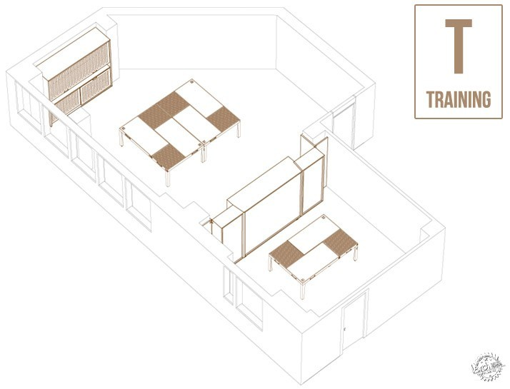 1 TABLE - 6 LAYOUTS / Ateliers Tristan & Sagitta第19张图片