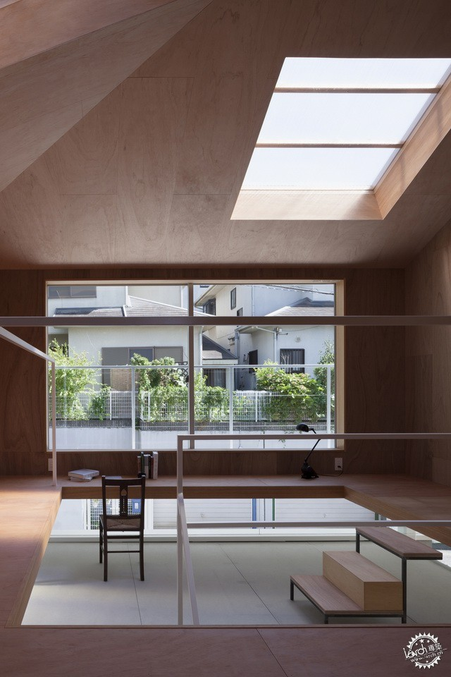 兵库县川西市住宅 HOUSE IN KAWANISHI TY TATO ARCHITECTS第4张图片