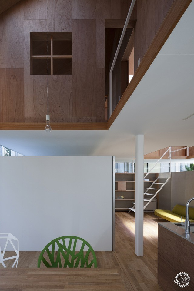 兵库县川西市住宅 HOUSE IN KAWANISHI TY TATO ARCHITECTS第3张图片