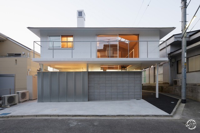 兵库县川西市住宅 HOUSE IN KAWANISHI TY TATO ARCHITECTS第1张图片