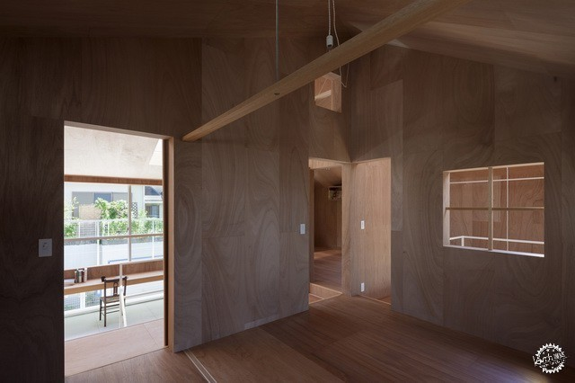 兵库县川西市住宅 HOUSE IN KAWANISHI TY TATO ARCHITECTS第5张图片