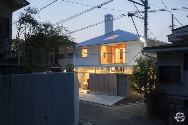 兵库县川西市住宅 HOUSE IN KAWANISHI TY TATO ARCHITECTS第6张图片