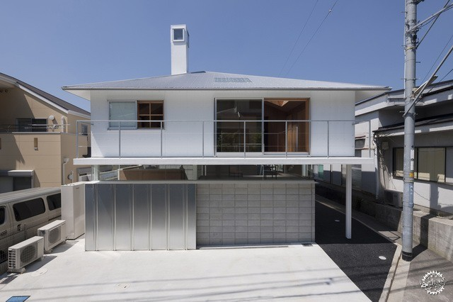 兵库县川西市住宅 HOUSE IN KAWANISHI TY TATO ARCHITECTS第8张图片