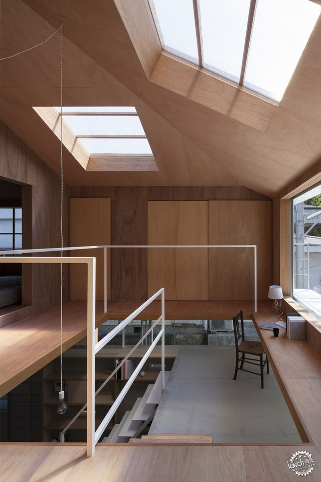 兵库县川西市住宅 HOUSE IN KAWANISHI TY TATO ARCHITECTS第18张图片