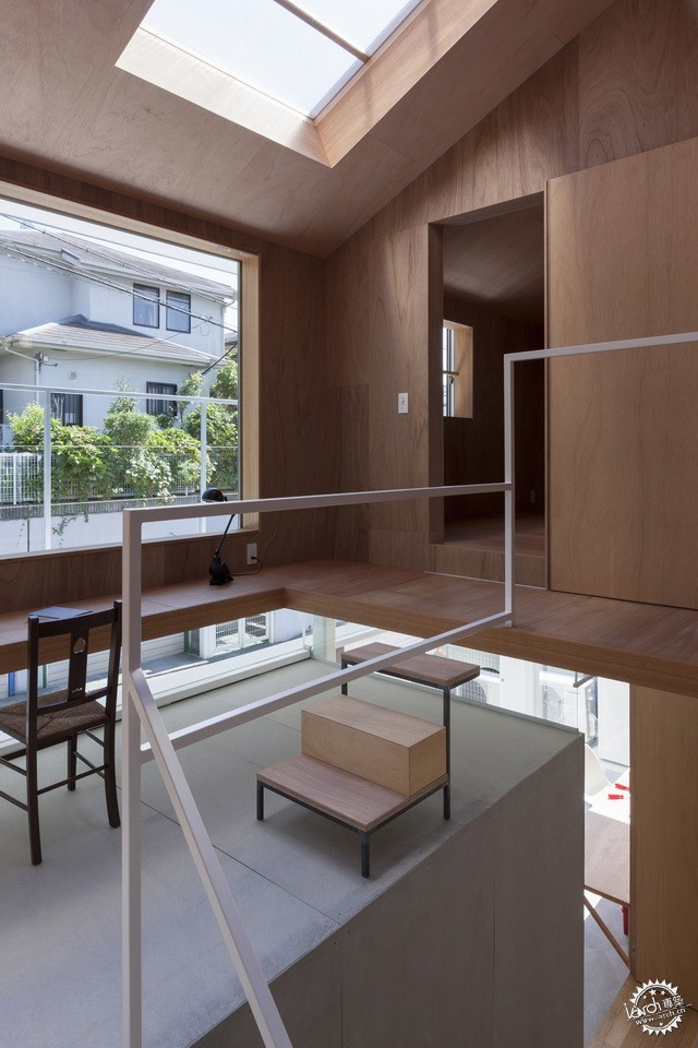 兵库县川西市住宅 HOUSE IN KAWANISHI TY TATO ARCHITECTS第20张图片