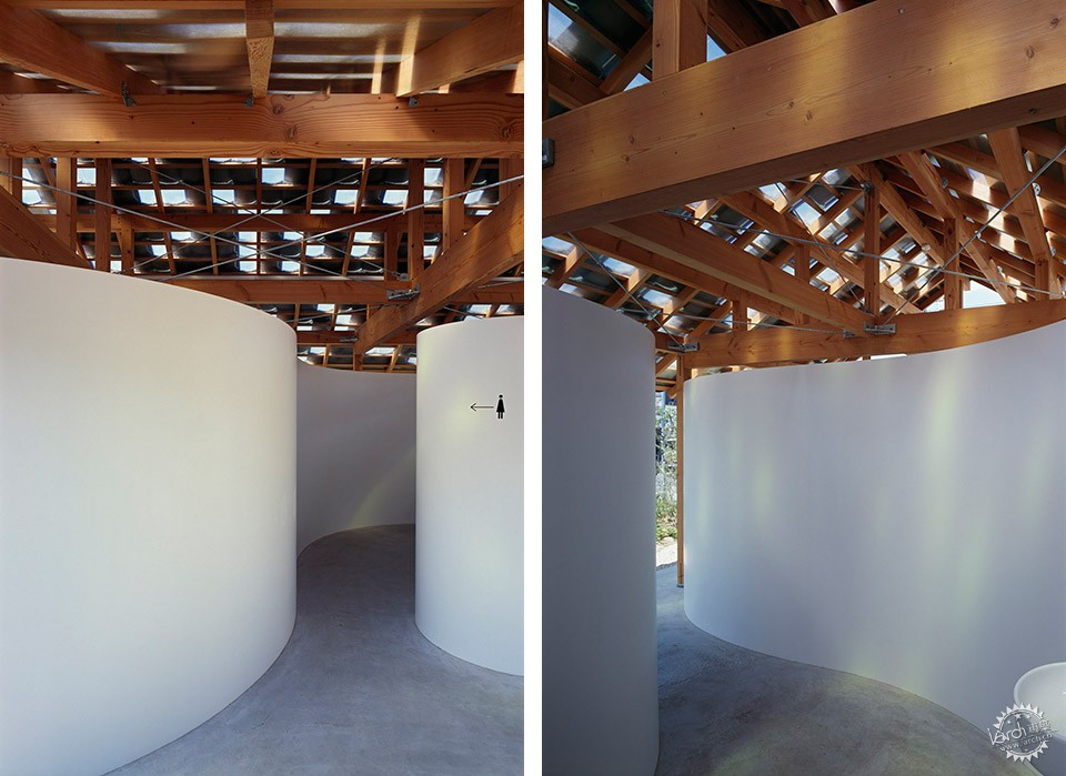 Hut with the Arc Wall / Tato Architects第3张图片
