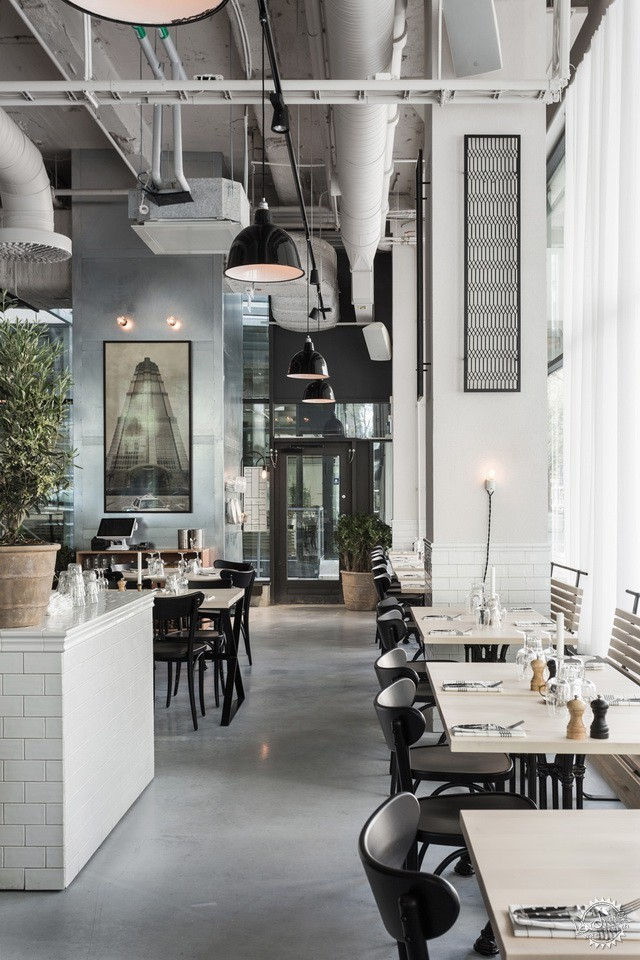 斯德哥尔摩 USINE 餐厅 USINE – A NEW RESTAURANT CONCEPT BY RICHARD LINDVALL第4张图片