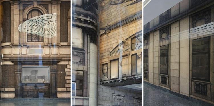 建筑拼贴画