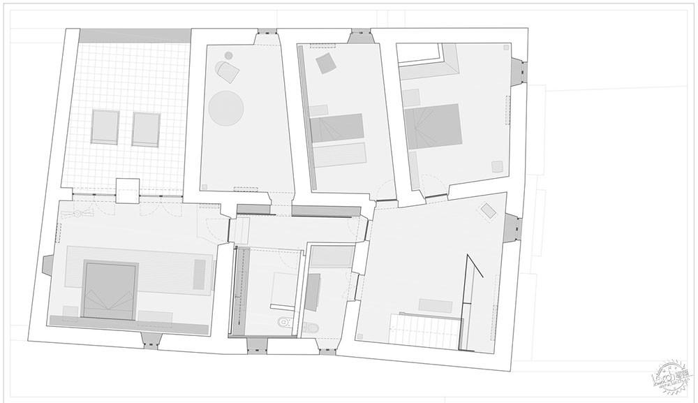 农村房屋建筑平面图