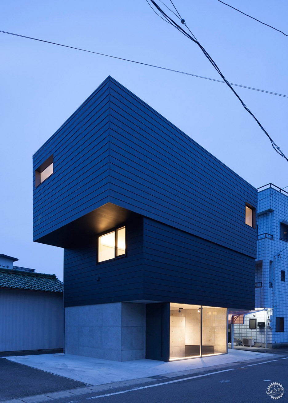 日本Gaze住宅/ APOLLO Architects & Associates第3张图片