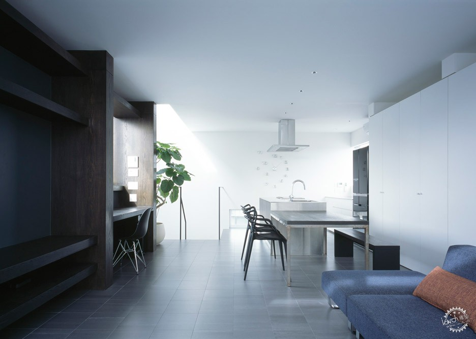 日本Gaze住宅/ APOLLO Architects & Associates第8张图片