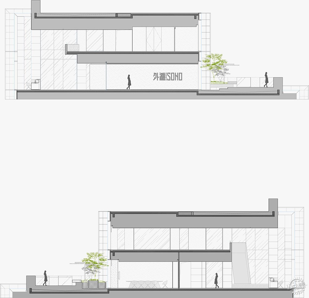 外滩SOHO/ AIM Architecture第15张图片