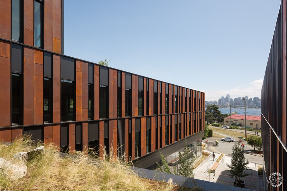 NorthEdge办公楼/ Perkins+Will第5张图片
