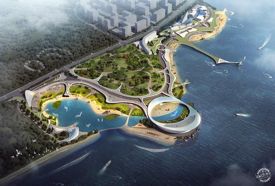 ▽青岛蓝色硅谷海洋馆