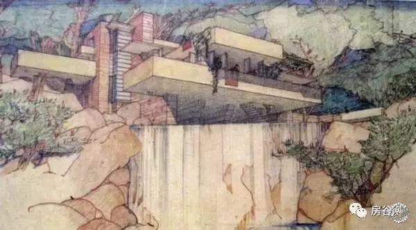 有一个建筑传奇叫:流水别墅|有一种建筑经典叫:流水