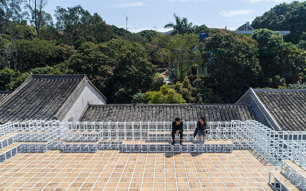 住在白色格栅里的建筑,有种浓郁的文艺气息|深圳艺栈建筑改造第10张图片