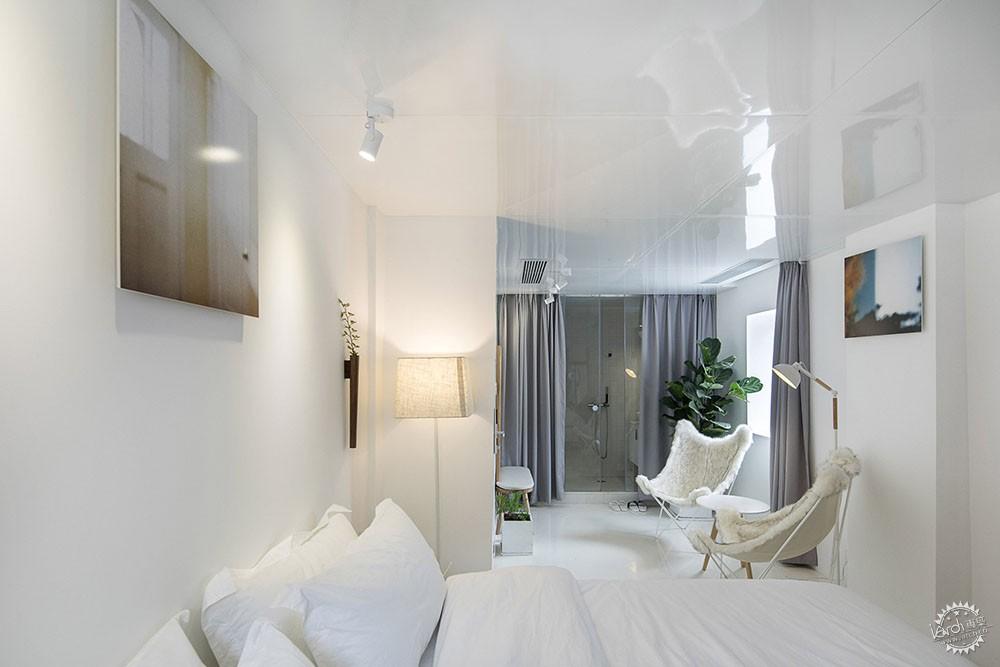住在白色格栅里的建筑,有种浓郁的文艺气息|深圳艺栈建筑改造第14张图片