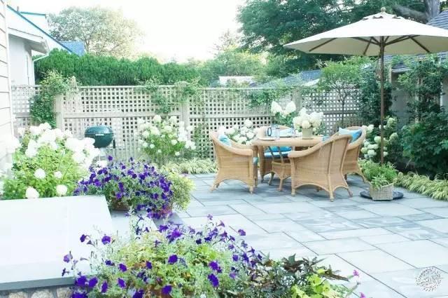 欧式花园水池背景墙图