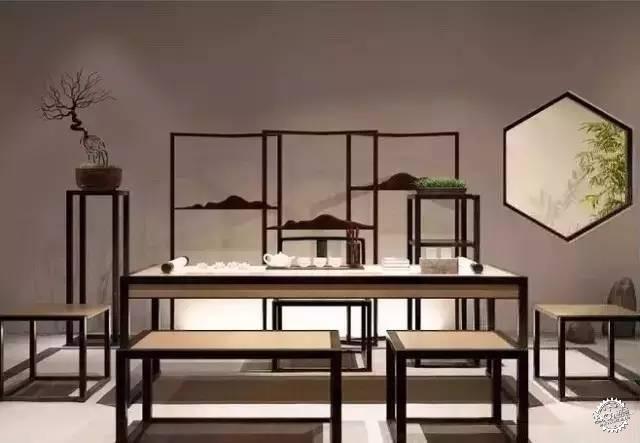 茶室· 当新中式遇上简约风-设计最前沿|室内-专筑网