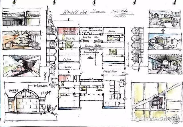 建筑细节分析图模板