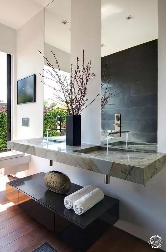 衛生間也愛新中式!-室內設計聯盟|裝修-專筑網