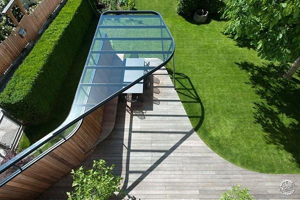 钢结构屋顶平台