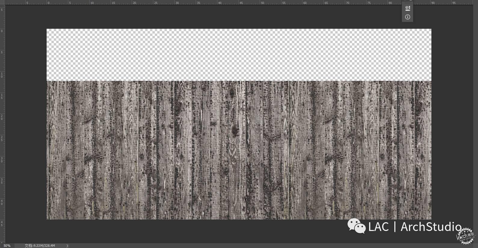 之后进行建筑地下部分的绘制,导入一张木板贴图