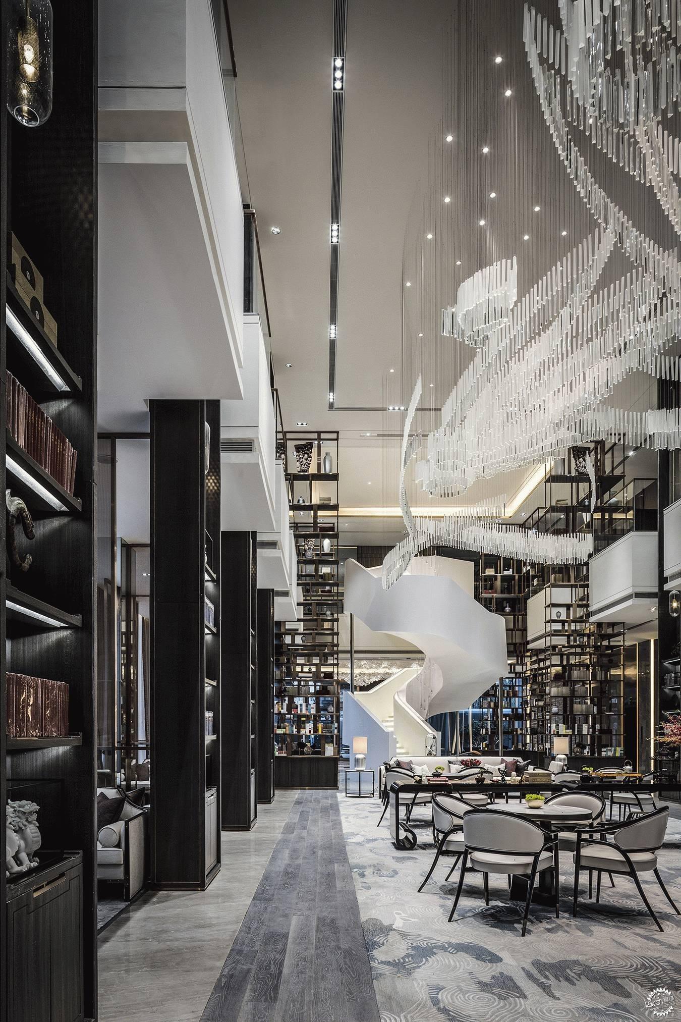 写意书香韵 塞北草原情-室内设计联盟|商业空间-专筑网