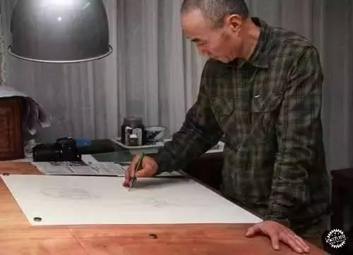 中国钢笔画顶尖高手徐亚华作品第1张图片