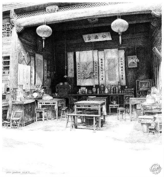 中国钢笔画顶尖高手徐亚华作品第5张图片