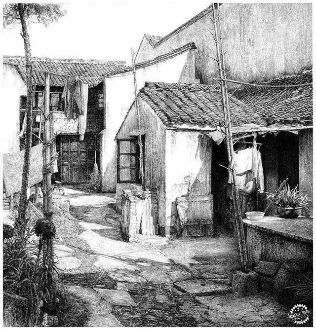 中国钢笔画顶尖高手徐亚华作品第6张图片