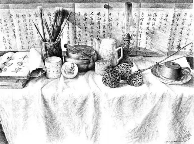 中国钢笔画顶尖高手徐亚华作品第13张图片
