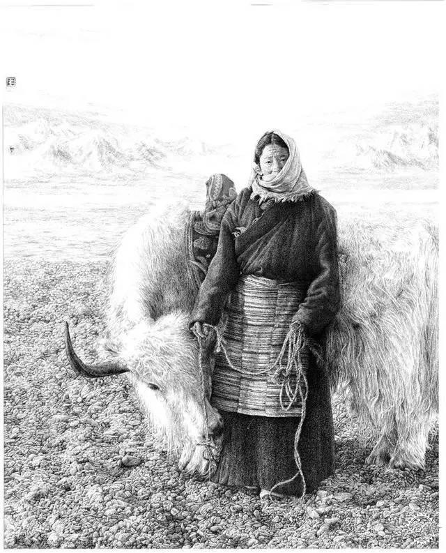 中国钢笔画顶尖高手徐亚华作品第19张图片