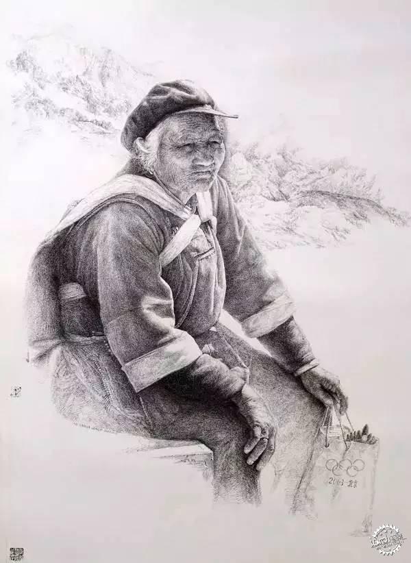 中国钢笔画顶尖高手徐亚华作品第18张图片