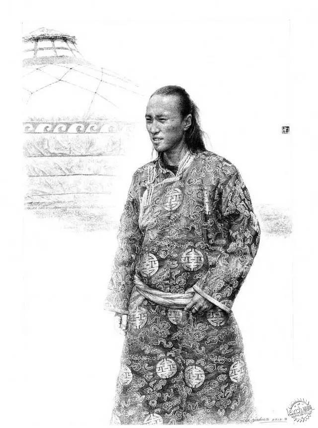 中国钢笔画顶尖高手徐亚华作品第17张图片