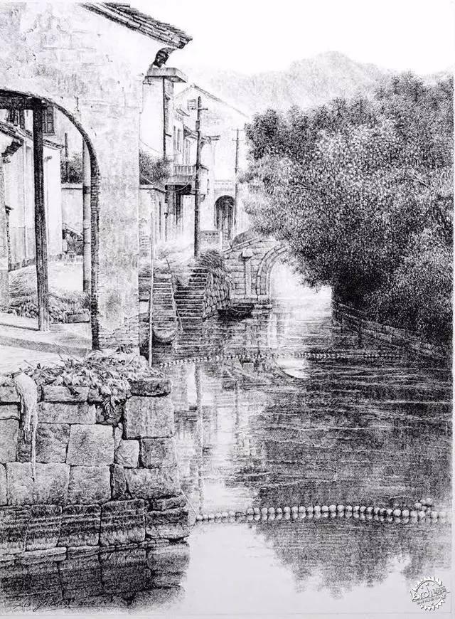 中国钢笔画顶尖高手徐亚华作品第22张图片