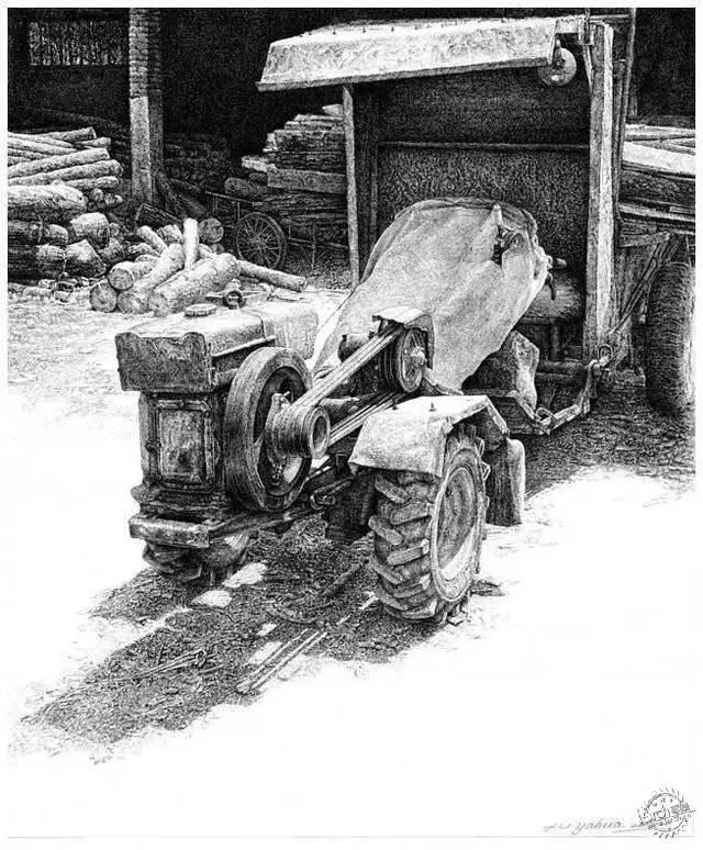 中国钢笔画顶尖高手徐亚华作品第26张图片