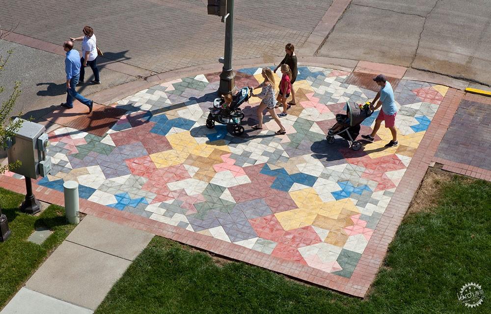 独具创意的街道展览装置第7张图片