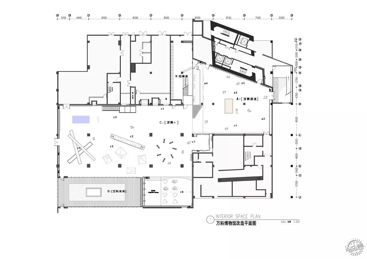 室内平面立体设计图