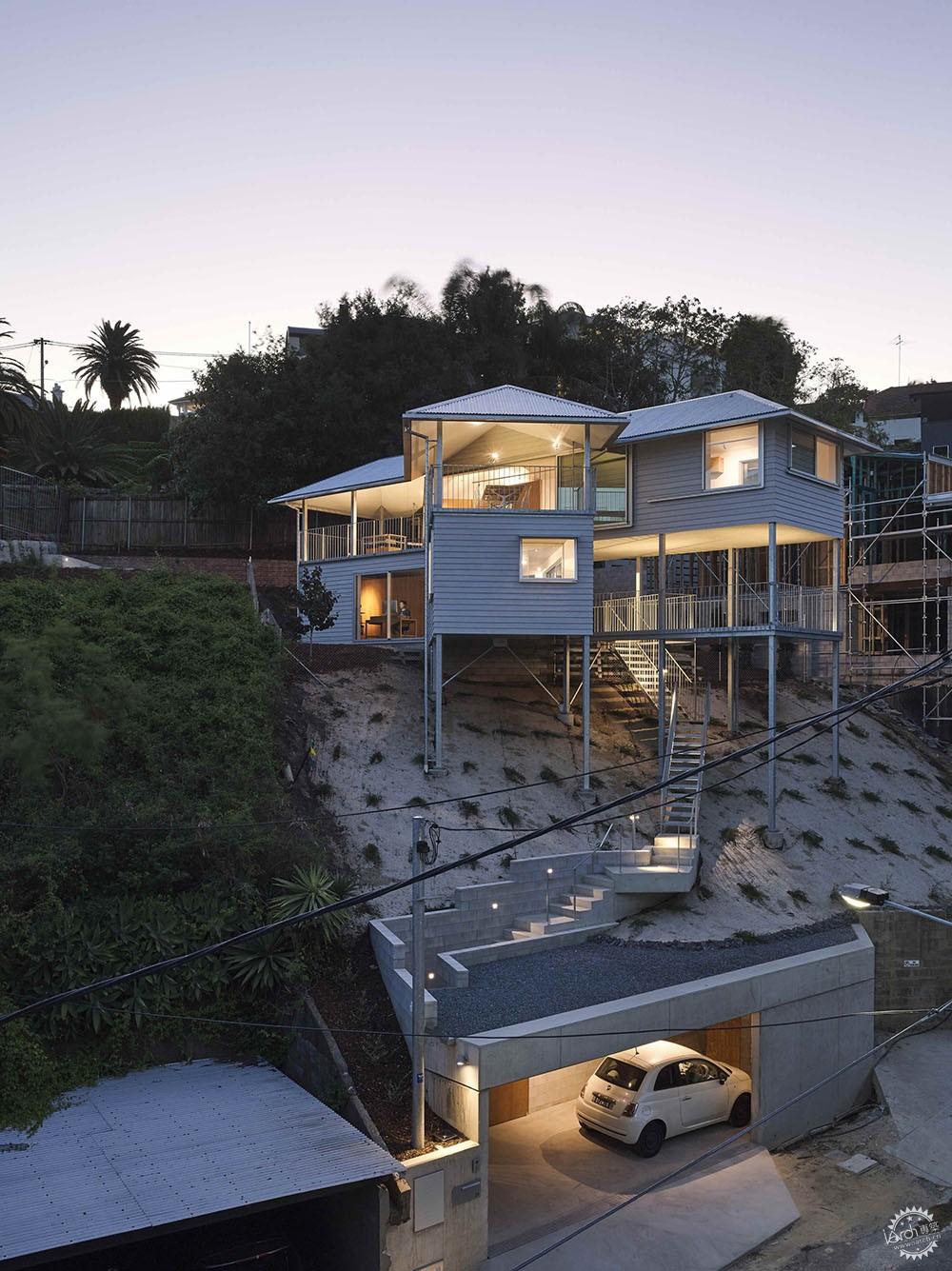 把楼层抬高,让景观进来丨澳大利亚下部扩建项目第1张图片