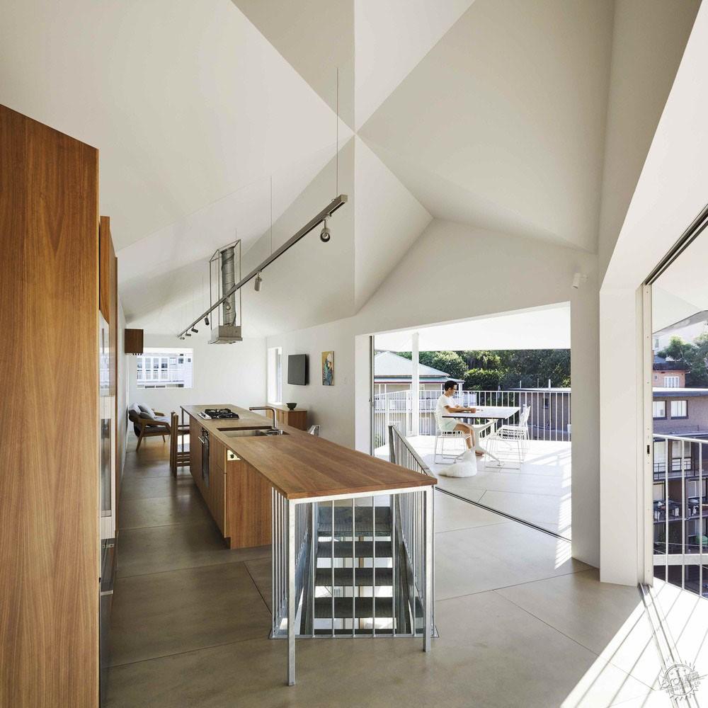 把楼层抬高,让景观进来丨澳大利亚下部扩建项目第3张图片