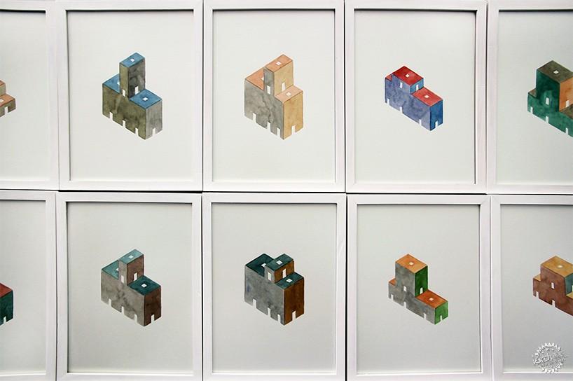 去不了芝加哥看雙年展?來看看這729幅水彩作品第7張圖片