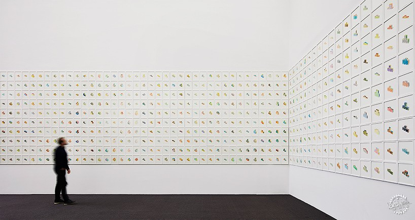 去不了芝加哥看雙年展?來看看這729幅水彩作品第14張圖片