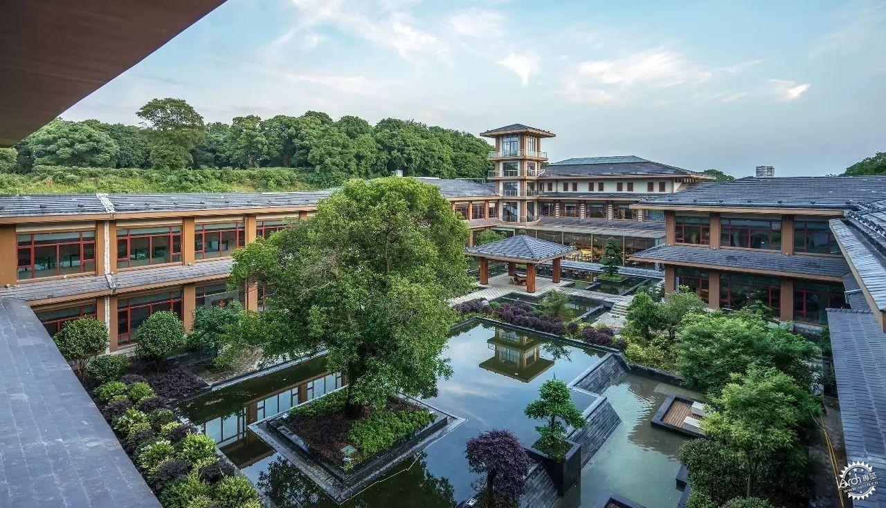 岳阳君山岛君澜度假酒店:简练中式 ,自然清雅