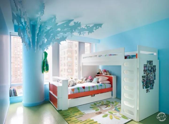 10款现代化儿童房创意设计