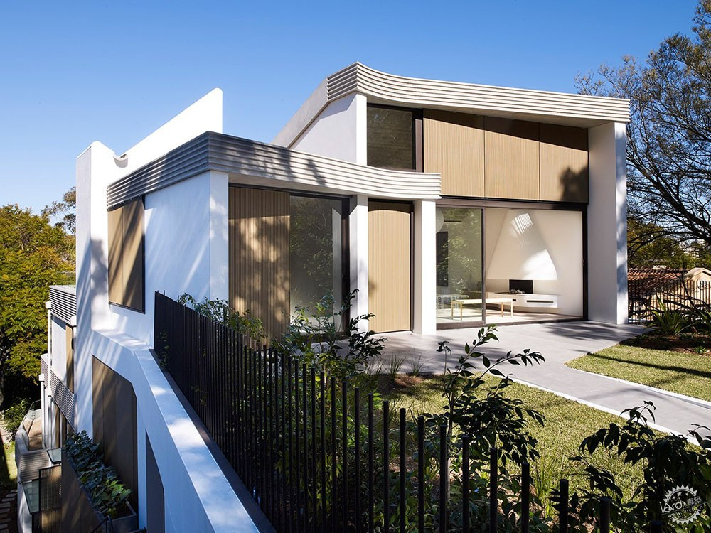 梯田式建筑不是千篇一律,需要根据环境因素设计而成第1张图片