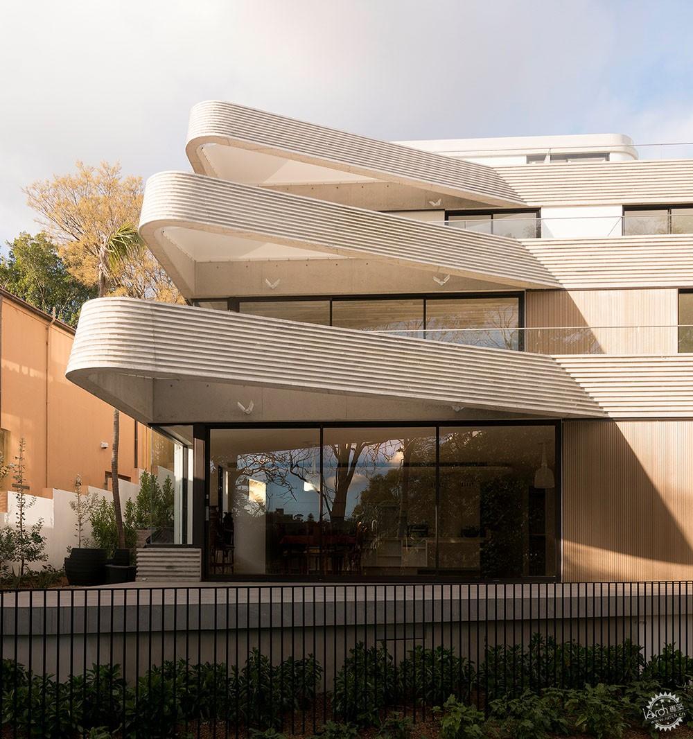 梯田式建筑不是千篇一律,需要根据环境因素设计而成第8张图片