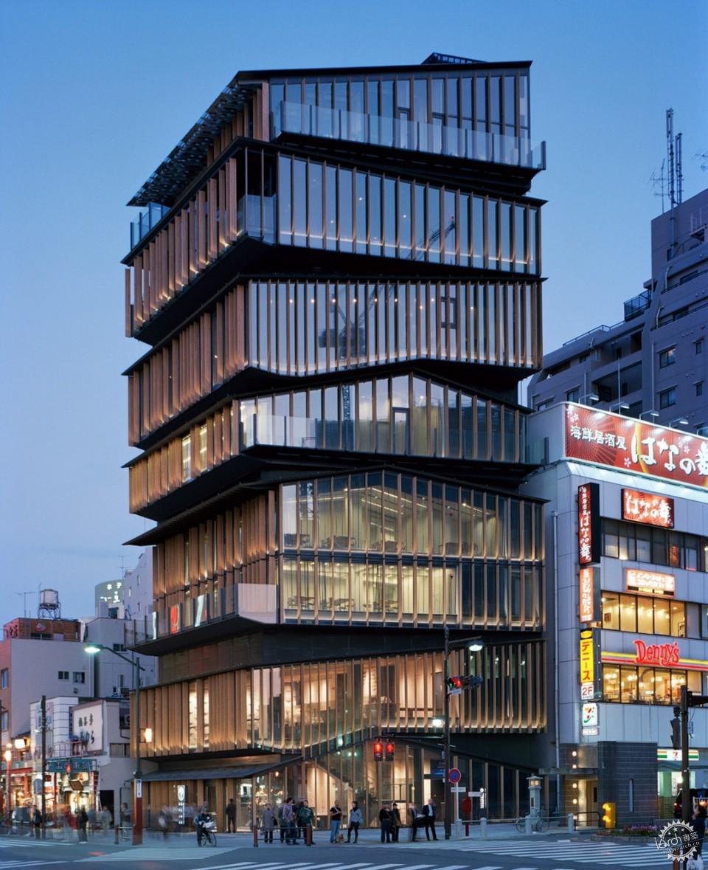 (北京/上海)隈研吾建筑都市设计事务所 – 全职建筑设计师 / 专业渲染
