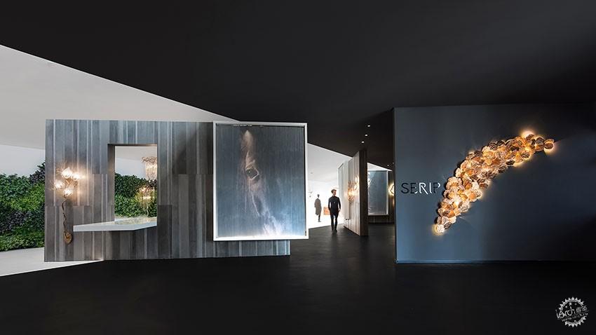 遇见一束光的设计|葡萄牙SERIP灯具展厅第2张图片